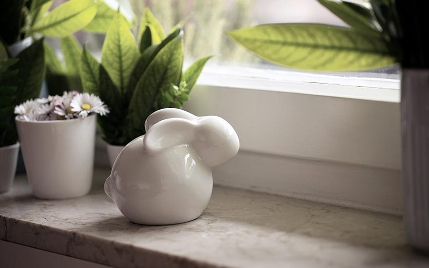 Ceramiczny królik